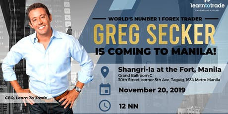 VIP Experience: Greg Secker Exclusive Live Event tickets