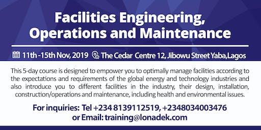 Facilities Engineering, Operations & Maintenance Training