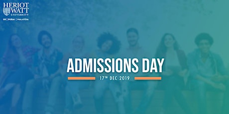Admissions Day tickets