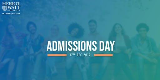 Admissions Day