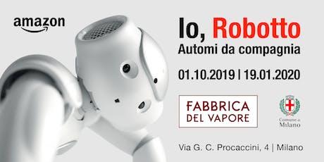 Artusi 4.0, AKA: i robot in cucina, dagli albori ai giorni nostri biglietti