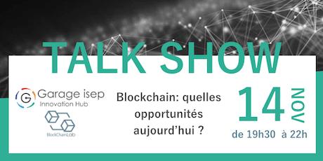 TalkShow Blockchain billets