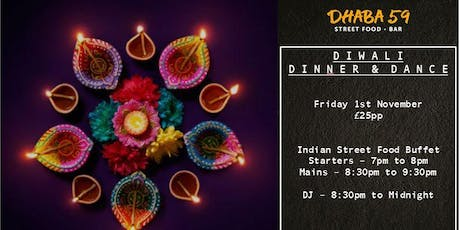 Dhaba59's Diwali Dinner & Dance! tickets