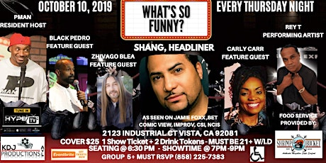 What's So Funny? Comedy Show  tickets