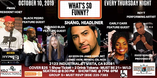 What's So Funny? Comedy Show