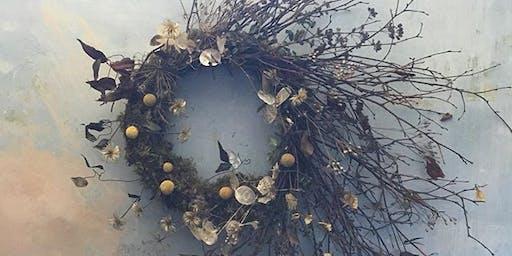 Eco-Friendly Modern Wreath Workshop