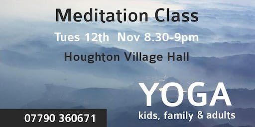 Meditation and Mindfulness Class Leicester