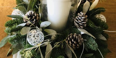 CHRISTMAS TABLE CENTREPIECE WORKSHOP 18TH DECEMBER 7-9PM