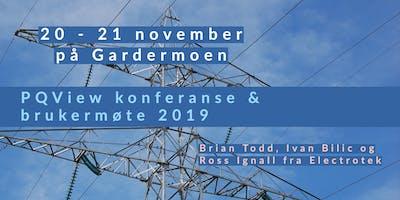 Dranetz og PQView brukermøte 20-21 november 2019 på Radisson Oslo Airport
