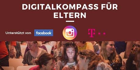 Digitalkompass für Eltern in München - Neue Medien und Erziehung Tickets
