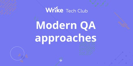 Modern QA approaches tickets