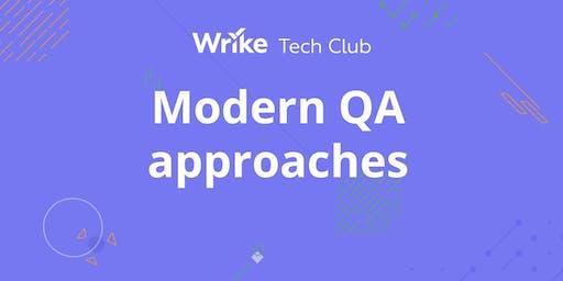 Modern QA approaches