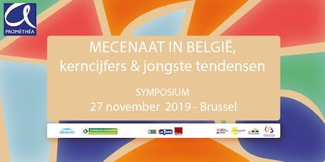 MECENAAT IN BELGIË, KERNCIJFERS & JONGSTE TENDENSEN tickets