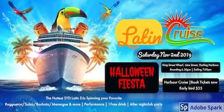 Sydney Latin Cruise Party - Halloween Crew tickets
