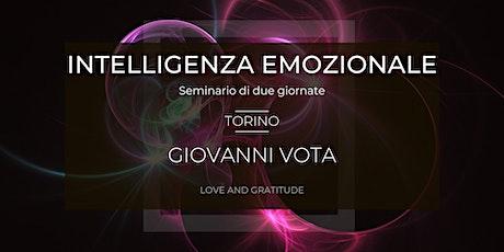 Intelligenza Emozionale | Seminario con Giovanni Vota e Barbara Goia biglietti