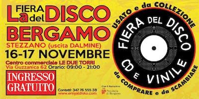 Fiera del Disco a Bergamo al centro commerciale Le due torri di Stezzano