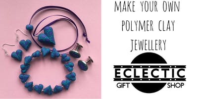 Make Your Own Jewellery using Colourful Polymer Clay (Adults)