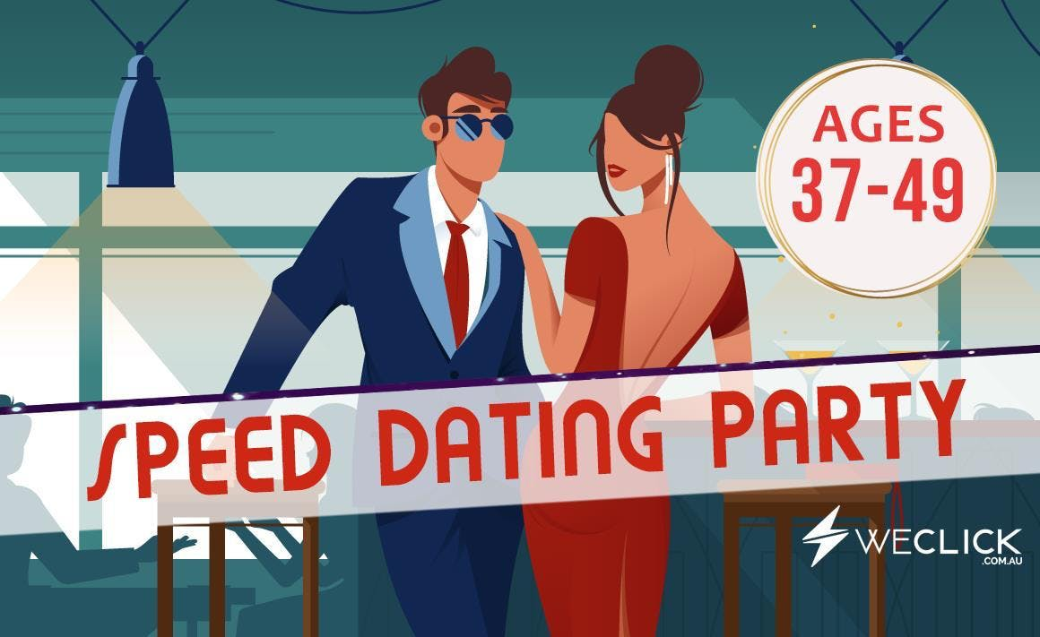 Speed Dating & Singles Party  ages 37-49  Hobart