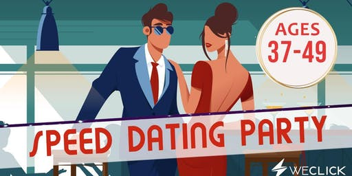 Speed Dating & Singles Party | ages 37-49 | Hobart
