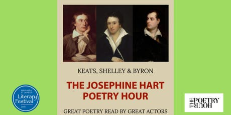 THE JOSEPHINE HART POETRY HOUR: Keats, Shelley and Byron tickets