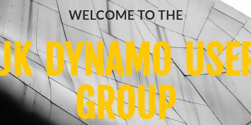 MRUG - Dynamo User Group North Meeting #4 - Monday 28th October 2019
