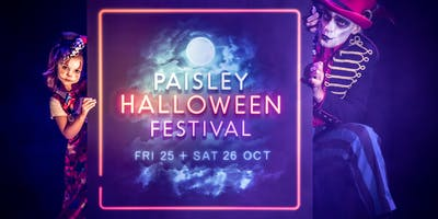 Paisley Halloween Festival Banner and Flag Workshops