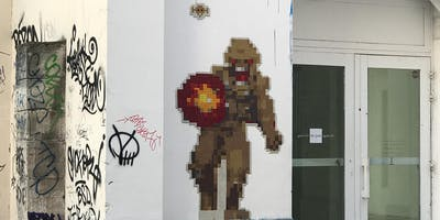 CHASSE AUX SPACE INVADERS | Parcours 1000 points (Street art)