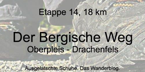 Bergischer Weg: Oberpleis - Drachenfels (mit Weihnachtsmarkt)