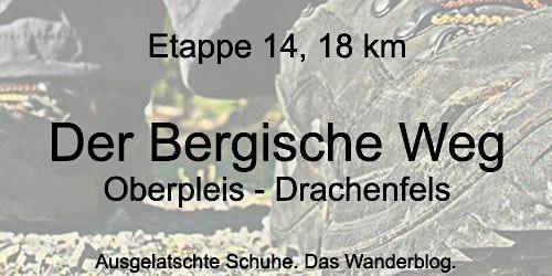 Bergischer Weg: Oberpleis - Drachenfels (mit Weihn