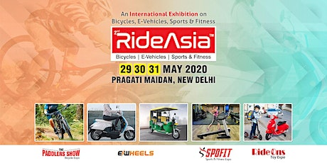 RideAsia-2020 Exhibition on Bicycles, E-vehicles, Toys, Sport & Fitness tickets