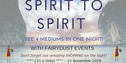 Spirit To Spirit 21 November @ Acregate Club