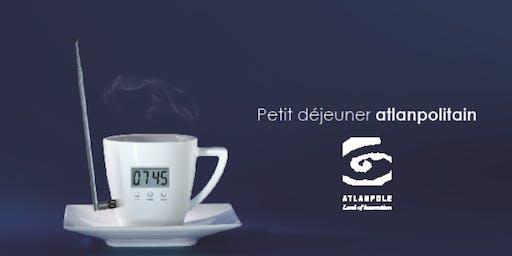 """Petit-déjeuner Atlanpolitain """"Design centré utilisateur...""""   5 novembre   L'Ecole de Design Nantes"""