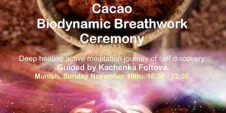 Cacao Biodynamic Brethwork Ceremony Tickets