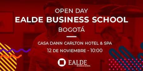 Open Day EALDE Business School Bogotá (12 de Noviembre) entradas