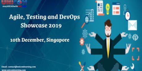 Agile, Testing and DevOps Showcase 2019 tickets