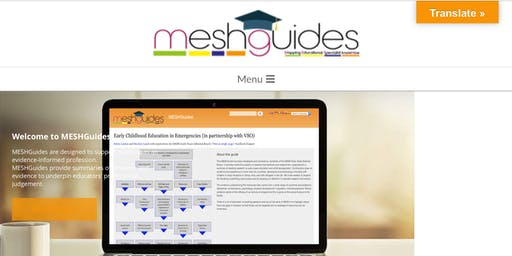 MESHGuides free online CPD: Reluctant Writers