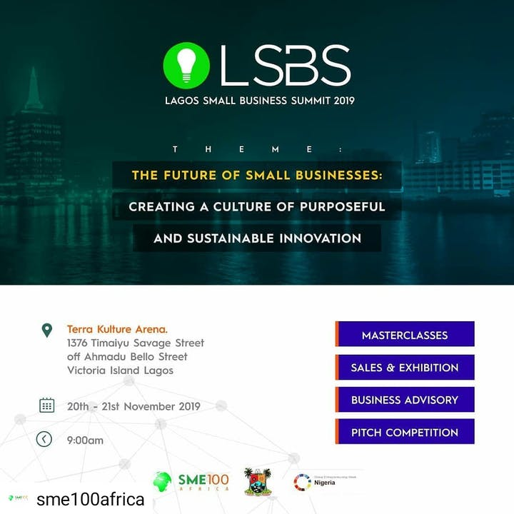 The Lagos Small Business Policy Summit