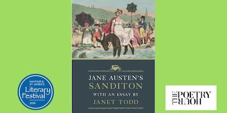 Janet Todd: Jane Austen's Sanditon tickets