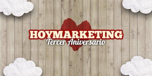 Reunión 3er Aniversario de HoyMarketing