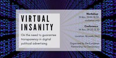 Virtual Insanity? On the need to guarantee transparency in digital political advertising