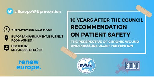 EWMA & EPUAP Roundtable debate on patient safety and wound care in Europe