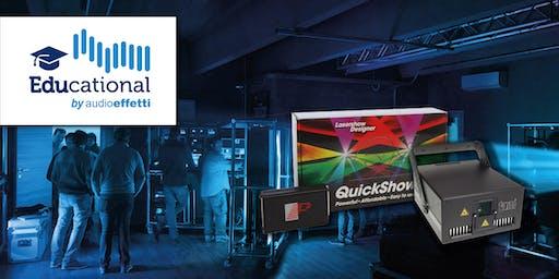 Corso base software Pangolin Beyond e cenni sulle norme alla sicurezza nell'utilizzo dei laser per lo spettacolo - Perugia