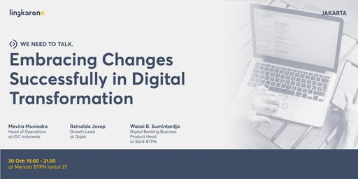 Embracing Changes Successfully in Digital Transformation