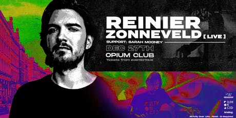 Reinier Zonneveld [Live] at Opium Club tickets