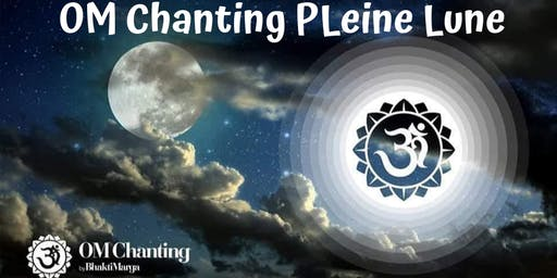 OM Chanting  PLEINE LUNE + SHOP - Forum 104 (75006)