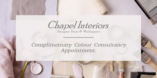Complimentary Colour Consultancy at Chapel Interiors