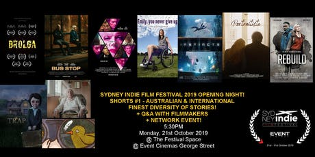 Sydney Indie Film Festival 2019 Opening Night tickets