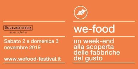 We-Food 2019 @ Agugiaro biglietti