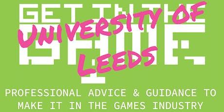 Get in the Game Careers Talks; University of Leeds tickets