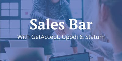 Sales Bar #5 | GetAccept x Upodi x Statum | Talks, Beers & Pizzas